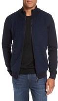 BOSS 'Bacco' Trim Fit Full Zip Wool Knit Jacket