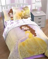 """Disney Disney's Beauty & The Beast """"Belle En Rose"""" 7-Pc. Full Comforter Set"""