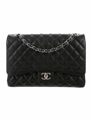 Chanel Classic Maxi Double Flap Bag Black