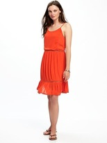 Old Navy Crochet-Trim Swing Dress for Women