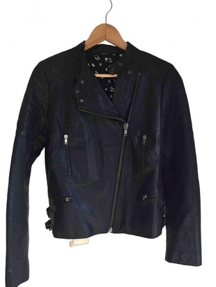 Lucien Pellat-Finet Lucien Pellat Finet Black Leather Jacket for Women
