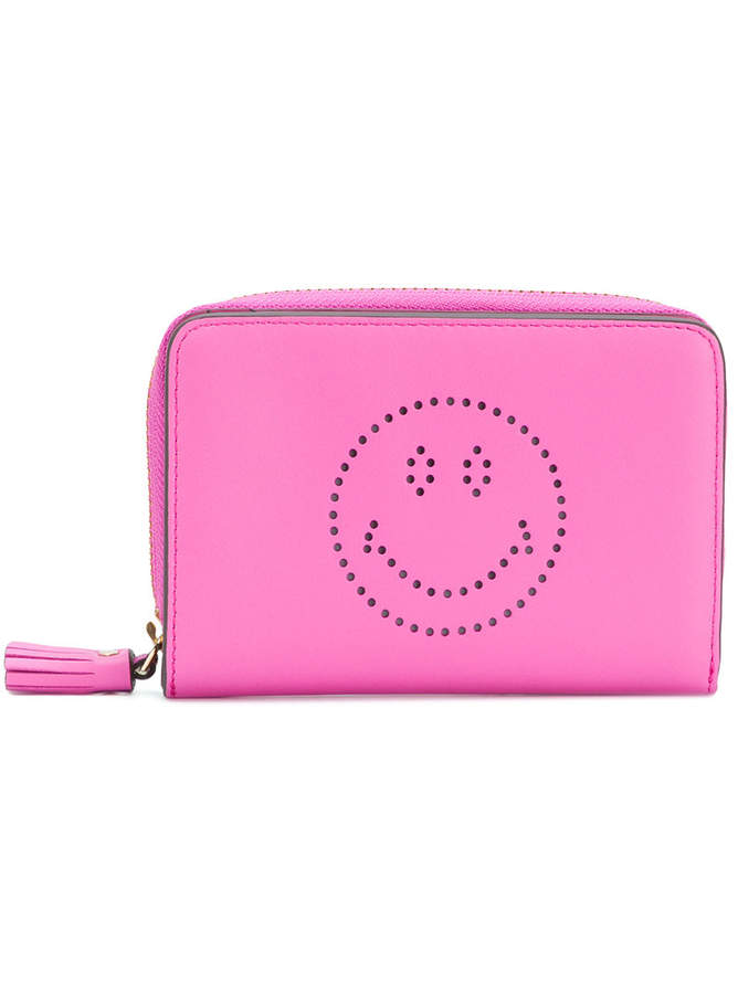Anya Hindmarch Smiley Face zip purse