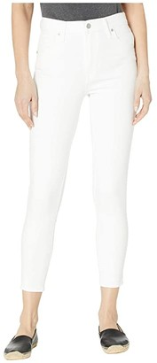 Levi's Womens Mile High Ankle Skinny (White) Women's Jeans