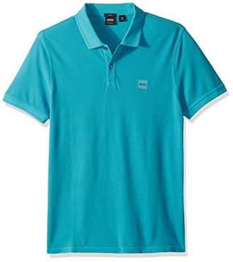 HUGO BOSS BOSS Orange Men's Prime Short Sleeve Pique Polo Shirt