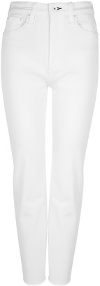 Rag & Bone Nina white kick-flare jeans