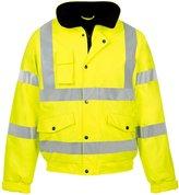 FK Styles Mens Hi Visibility Waterproof Storm Workwear Security Jacket