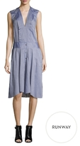 BCBGMAXAZRIA Dakota Pleated Shirtdress