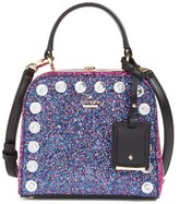 Kate Spade Skyline Way Violina Glitter Satchel - Blue