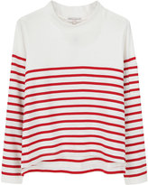 Opening Ceremony / Cropped Red Stripe Top