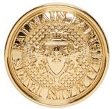 Balmain - Boucle d'oreille dorée Coin