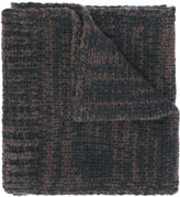 Salvatore Ferragamo ribbed scarf - men - Cashmere - One Size