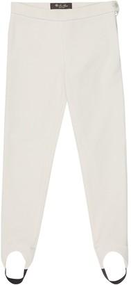Loro Piana Kids Karine stretch-cotton stirrup pants