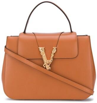 Versace Virtus top handle bag