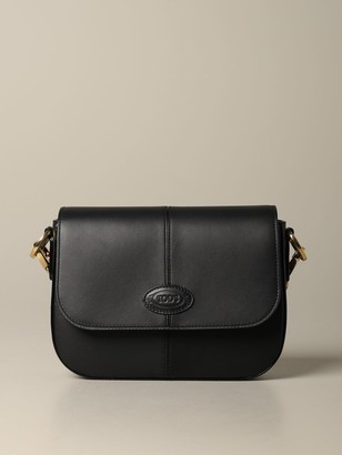 Tod's Tods Crossbody Bags Tods D Bag In Leather With Logo