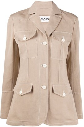 Lanvin Pocketed Blazer Jacket