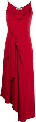 Diane von Furstenberg Knot-Detailing Asymmetric Dress
