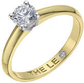 Leo Diamond 18ct yellow & white gold 0.50ct I-I1 ring