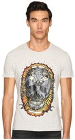 Just Cavalli Wreath Skull T-Shirt Men's T Shirt
