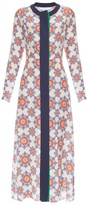 Jonathan Saunders Lila star-print crepe de Chine dress