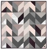 ferm LIVING Arrow Quilt - Grey - 235x245 cm