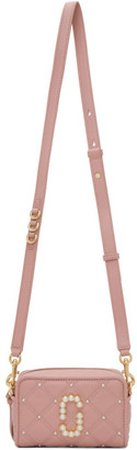 Marc Jacobs Pink The Quilted Softshot Pearl 17 Bag
