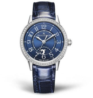 Jaeger-LeCoultre Stainless Steel and Diamond Rendez-Vous Night & Day Watch 29mm