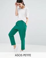 Asos Woven Peg Pull On Pants
