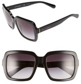 Dolce & Gabbana Women's 55Mm Retro Sunglasses - Black
