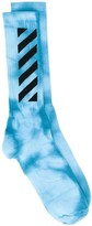Off-White Tie-Dye Mid-Length Socks