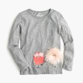 J.Crew Girls' furry Max the Monster T-shirt