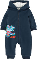 Kenzo Padded jumpsuit with a false fur lining