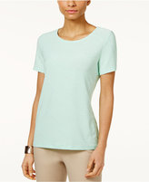 JM Collection Jacquard T-Shirt, Only at Macy's