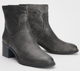 Franco Sarto Leather Ankle Boots - Lilliana