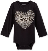 First Impressions Long-Sleeve Love Bodysuit, Baby Girls (0-24 months), Only at Macy's