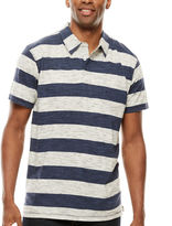 Lee Short-Sleeve Stripe Pocket Polo - Big & Tall