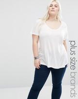 Brave Soul Plus Jersey T-Shirt