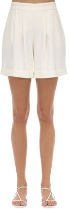 Hebe Studio Tailored Cady Shorts