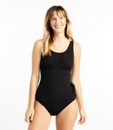 L.L. Bean Women's Slimming Swimwear, Scoopneck Tanksuit