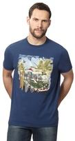 Mantaray Navy Campervan Print T-shirt