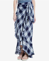Max Studio London Tiered Plaid Skirt, Created for Macy's