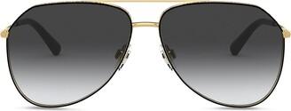 Dolce & Gabbana Eyewear Slim aviator-frame sunglasses