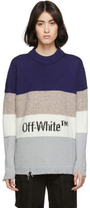 Off-White Blue OW Sweater