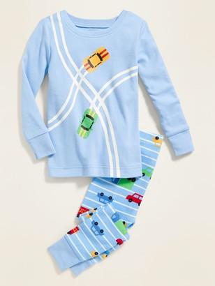 Old Navy Race Car Pajama Set for Toddler Boys & Baby