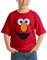 Sesame Street Elmo Face Youth Kids T-Shirt
