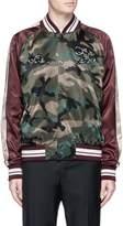 Valentino Panther embroidered satin souvenir jacket