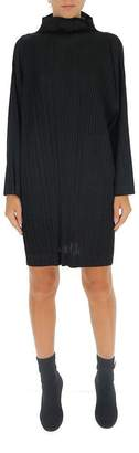 Pleats Please Issey Miyake Oversized Pleated Tunic