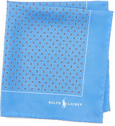 Polo Ralph Lauren Neat Silk Pocket Square