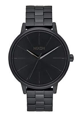 Nixon Women's A099001-00 Kensington Analog Display Japanese Quartz Black Watch