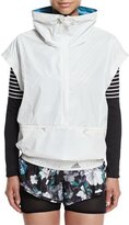 adidas by Stella McCartney Run Reflective Gilet Vest, White