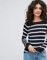 Only Stripe Knit Sweater